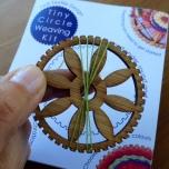 Tiny Circle Weaving Kit
