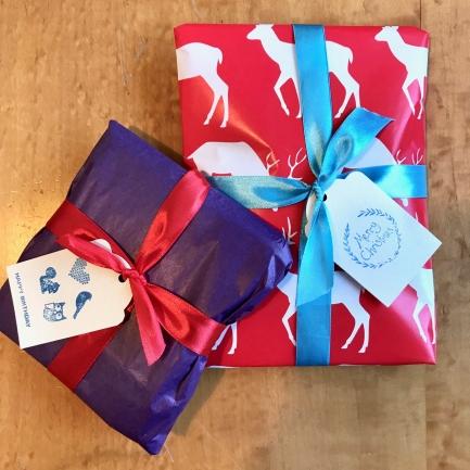Twill textiles Etsy gift wrap